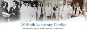 ASHP 75th Anniversary Timeline Image