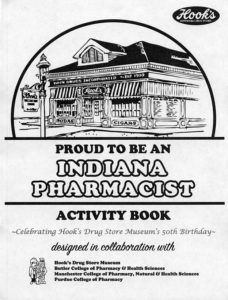 Cover page of Proud to be an Indiana Pharmacist Activity Book