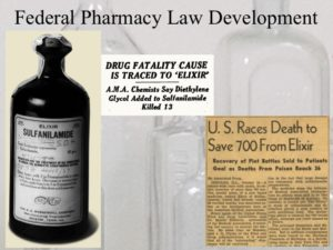 Sample slide about Federal Pharmacy Law Development