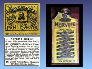 Sample slide about the Age of Quackery