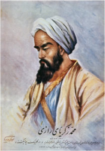 Arabic medical scholar Rhazes