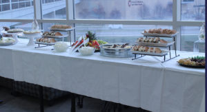 The delicious refreshments arranged by AIHP Curator Beth Fisher at Greg Higby's retirement party.