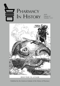 Cover of Pharmacy in History vol. 61, no. 1 & 2