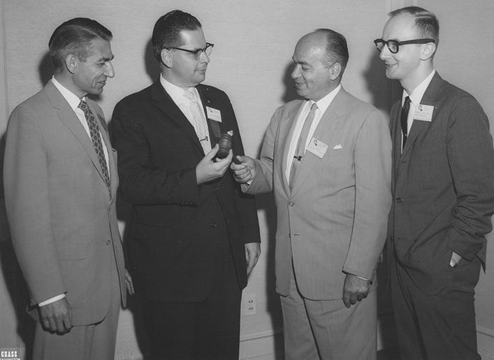 AIHP President George Griffenhagen in 1960