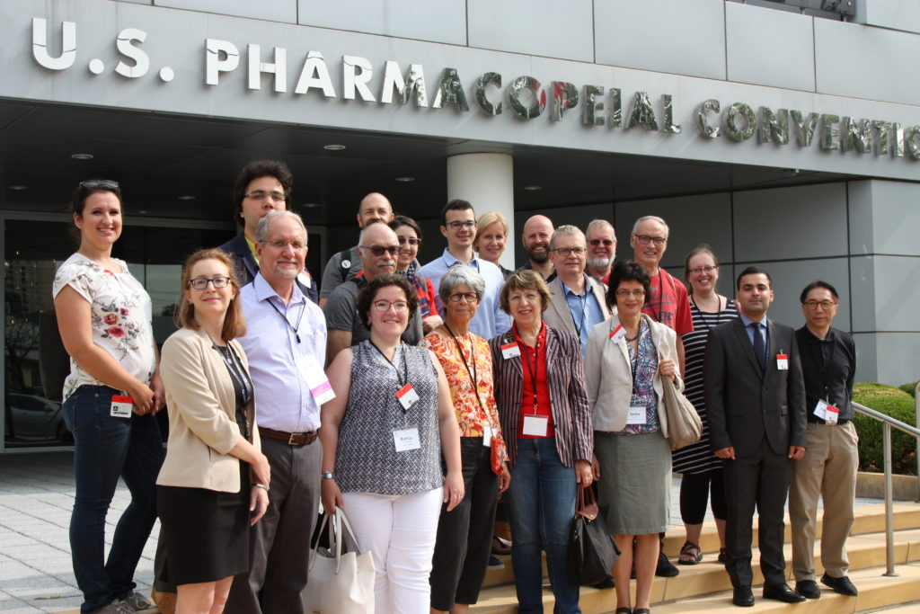 The Scientific Tour to the Headquarters of the United States Pharmacopeial Convention during the 44th International Congress for the History of Pharmacy.