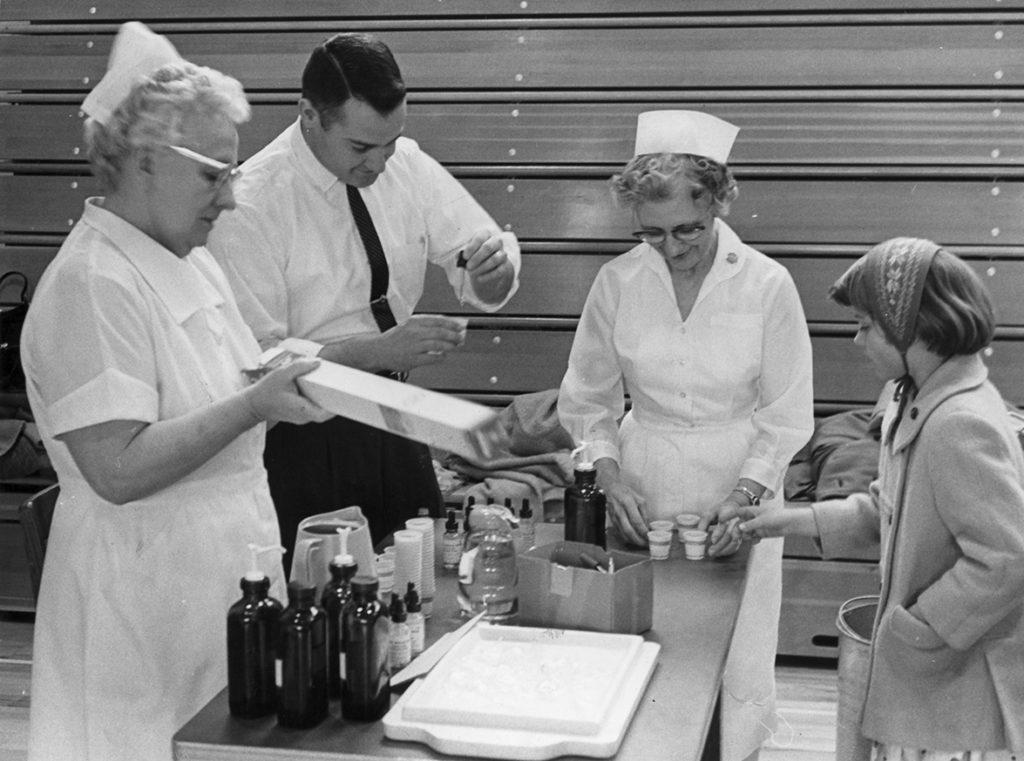 Pharmacist Preparing Vaccine