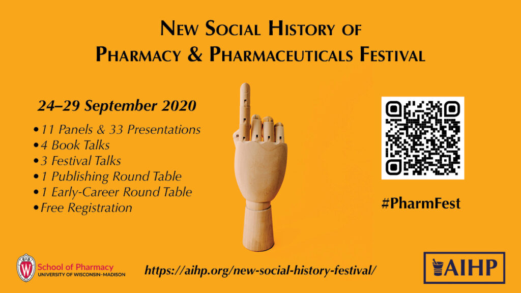 New Social History of Pharmacy & Pharmaceuticals