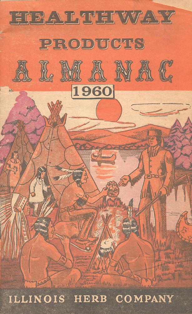 1960 Healthway Almanac cover