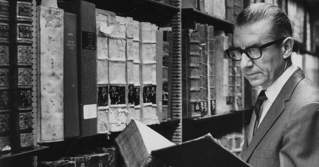 Glenn Sonnedecker and rare books, 1968