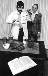 Glenn Sonnedecker and Greg Higby in 1977