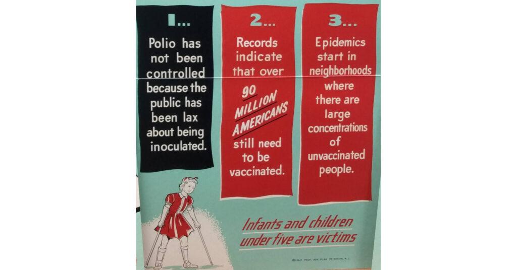 Pinchak Poster 1960 Polio Report